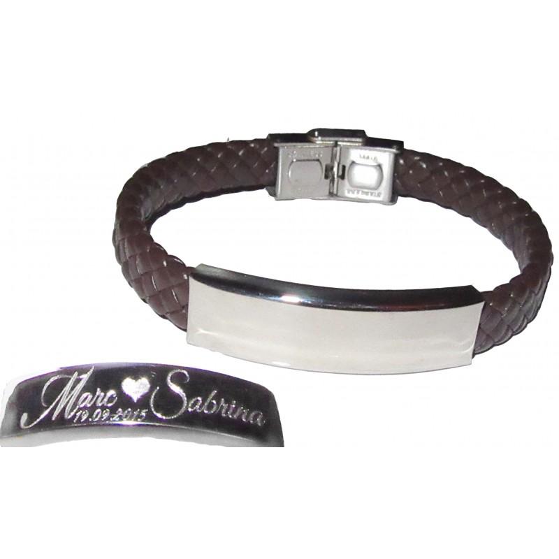 armreif armkette gravurarmkette armband mit gravur leder. Black Bedroom Furniture Sets. Home Design Ideas